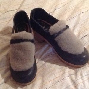 No. 6 shearling loafers